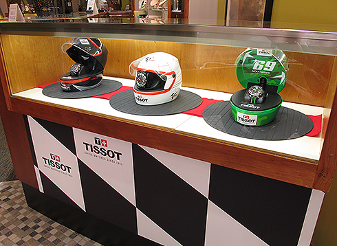 Tissot MotoGP Display at Windsor Jewelry