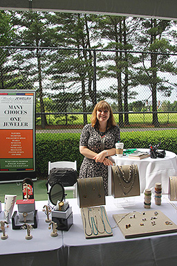 Windsor Jewelry Booth at Wine Women & Shoes